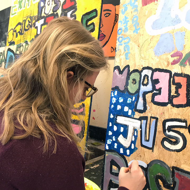 Community art heals residential SHIFT