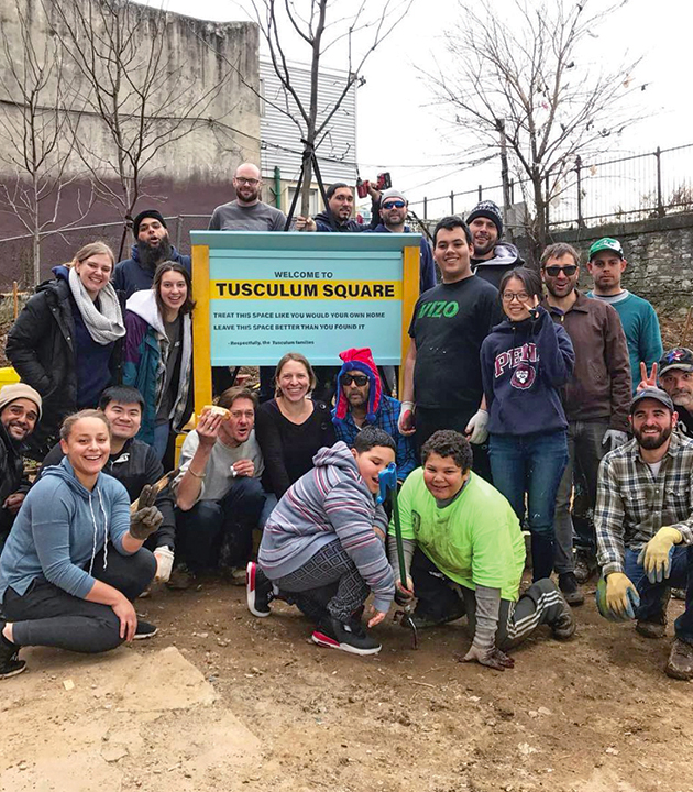 Tusculum Square community project Kensington Shift